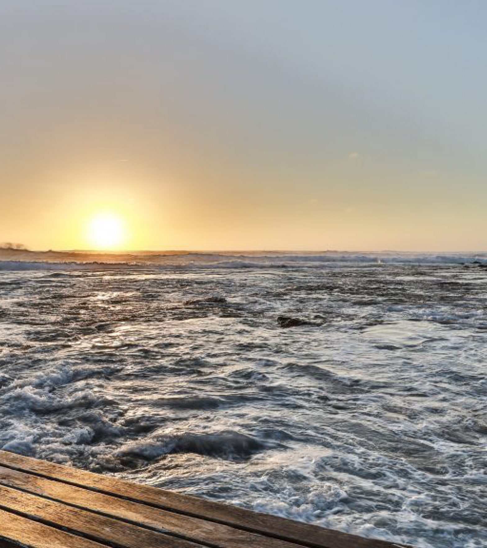 Meer - Sunset